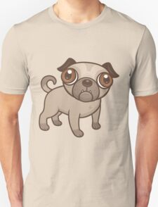 Pug Puppy Cartoon Unisex T-Shirt