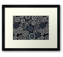 Snow. Framed Print