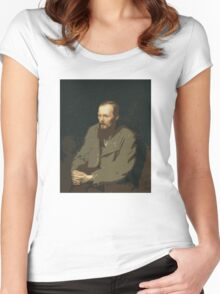 Dostoevsky Women's Fitted Scoop T-Shirt
