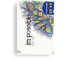 I'mPossible Canvas Print