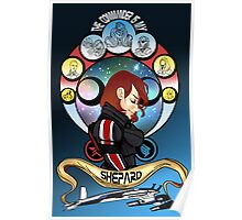 The Commander is my Shepard (RED HEAD EDITION) Poster