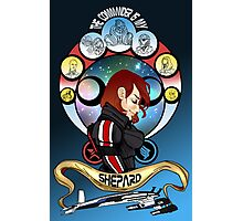The Commander is my Shepard (RED HEAD EDITION) Photographic Print