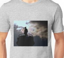 Storm clouds over the Jacobite Memorial Unisex T-Shirt