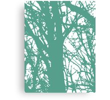 Blue and Green World Canvas Print