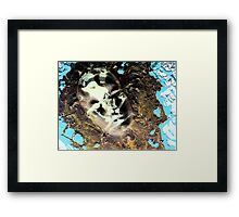 Muddy Waters Framed Print