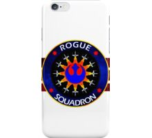 Rebel Alliance Rogue Squadron Logo iPhone Case/Skin