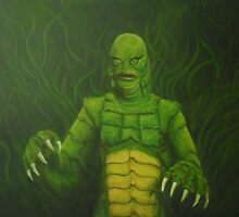 Creature From the Black Lagoon by Conrad Stryker