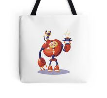 Forgetting Beethoven Robot Tote Bag