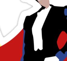Tuxedo Mask on White Sticker