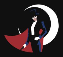 Tuxedo Mask on black by Mramirez91