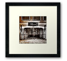 The New Jungle Club... Framed Print