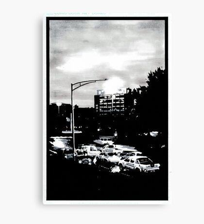 Hobart at dawn Canvas Print