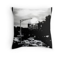 Hobart at dawn Throw Pillow