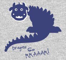 DRAGON'S GO RRAARR! Kids Tee