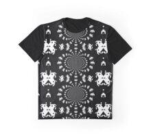 Invader Swirl Graphic T-Shirt