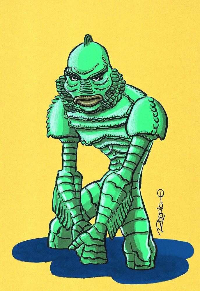 Creature from the Black Lagoon by Rodrigo Diaz Aravena
