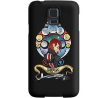 The Commander is my Shepard (RED HEAD EDITION) Samsung Galaxy Case/Skin