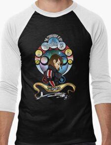The Commander is my Shepard (BRUNETTE EDITION) Men's Baseball ¾ T-Shirt