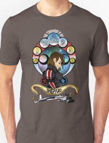 The Commander is my Shepard (BRUNETTE EDITION) Unisex T-Shirt