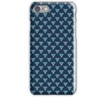 Vintage Blue Baroque Wallpaper iPhone Case/Skin