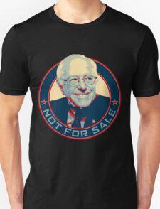 Bernie Sanders - Not For Sale T-Shirt