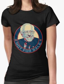 Bernie Sanders - Not For Sale Womens Fitted T-Shirt