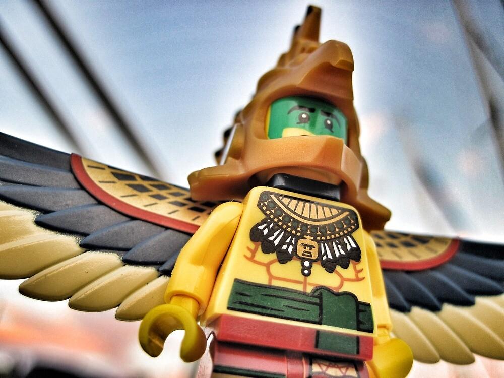 Bird-man (2 of 3) by bricksailboat
