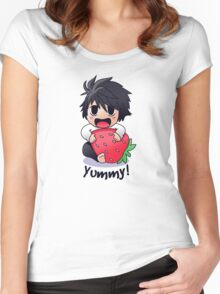 L yummy Women's Fitted Scoop T-Shirt