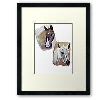 'Horses' Framed Print