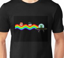 Mulder Scully Nyan Cat Unisex T-Shirt