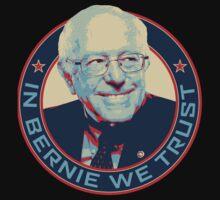 Bernie Sanders - In Bernie We Trust by poomshanka