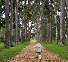 Pippa Running by Klaus Bohn
