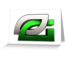OpTic Gaming Logo Greeting Card