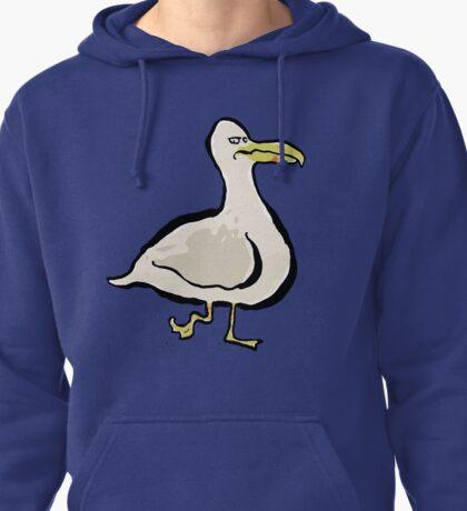 disgruntled seabird Pullover Hoodie