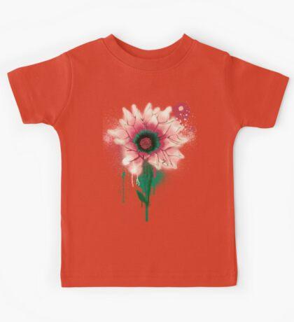 Splatter Flower Kids Tee
