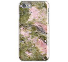 Gemstone Series - Pink and Green Thulite iPhone Case/Skin