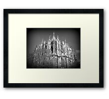 The many spires of Cologne Dome. Framed Print