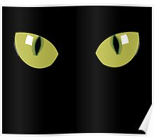 Amazing Cat Eye Sticker Tee Bag Duvet Poster