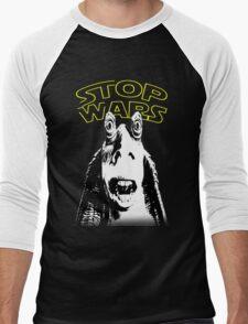 Jar Jar Binks Stop Wars Men's Baseball ¾ T-Shirt