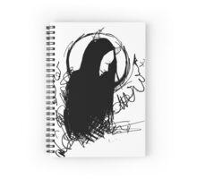 Demon (New Moon) Spiral Notebook