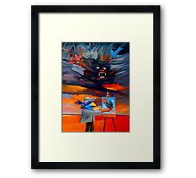 Pigments of imagination Framed Print