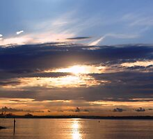 SUNRISE IN BOTANY BAY by parko