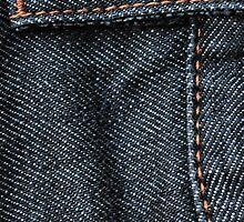 Blue Jean Stitching by pjwuebker