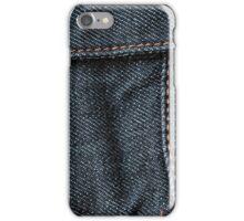 Blue Jean Stitching iPhone Case/Skin