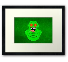 Pop Vinyl Slimer Framed Print