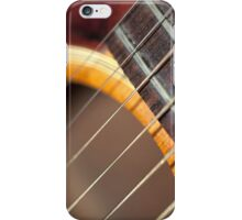 Accoustic Guitar Strings iPhone Case/Skin