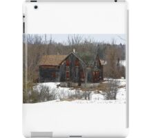 Red Windows - Abandoned Home iPad Case/Skin