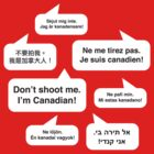 Don't shoot me. I'm Canadian! by Bear Pound