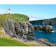 Discreet Lighthouse Photographic Print