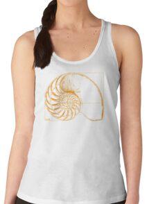 Fibonacci on a nautilus shell (orange) T-Shirt